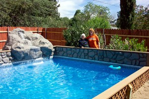 The Pool Installation Process Inground Vinyl Lined Pools
