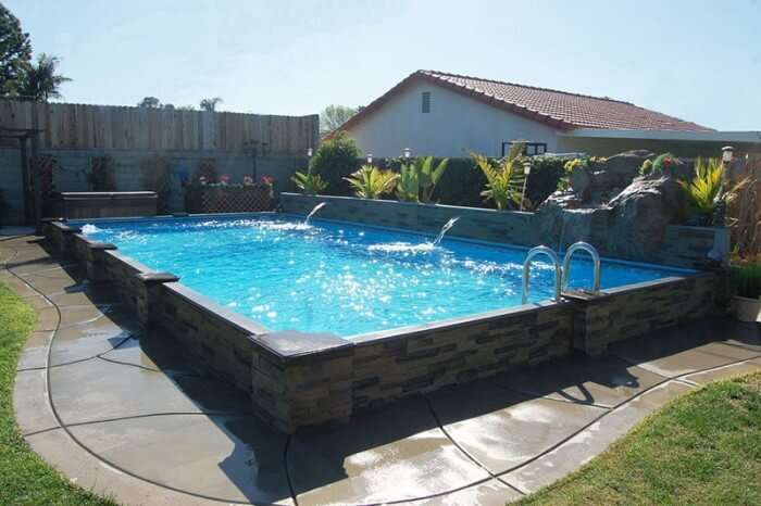 Islander® Inground Pools - Secard Pools & Spas