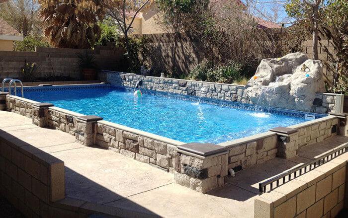 Islander Inground Pools Secard Pools Spas