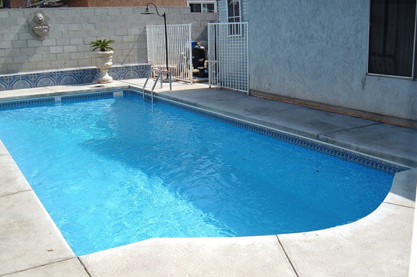 Inground Vinyl Pools Secard Pools Spas Southern California