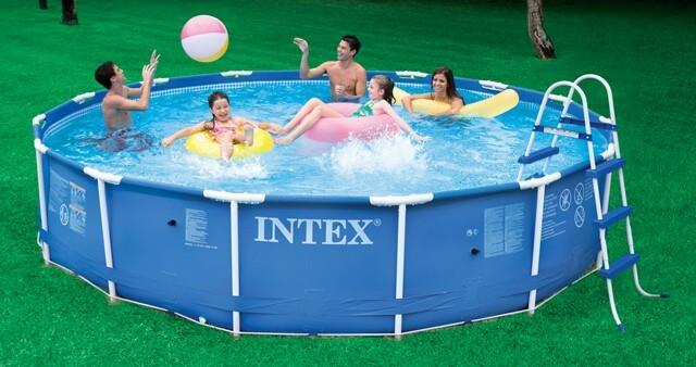 Intex pools above ground pools starting 99 - Intex above ground swimming pools ...