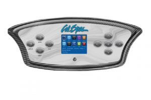 Cal-Spas-feather-touch-panel